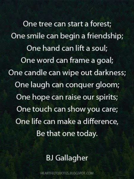 bj gallagher heartfelt love  life quotes