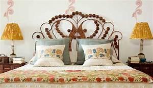 Tete De Lit Rotin : t te de lit en rotin dans une chambre baroque ~ Teatrodelosmanantiales.com Idées de Décoration