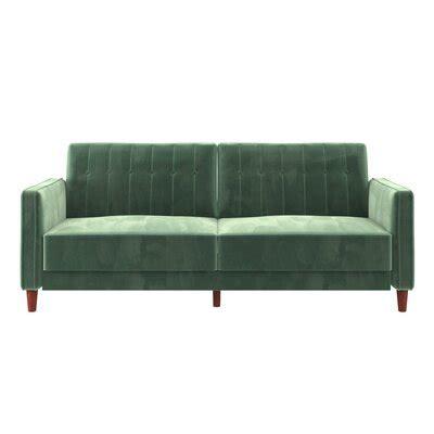 green sofas youll love wayfair