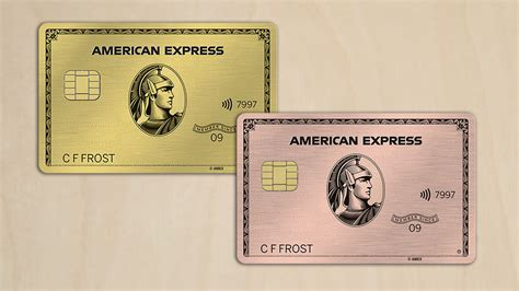 amex gold card   rose gold limited