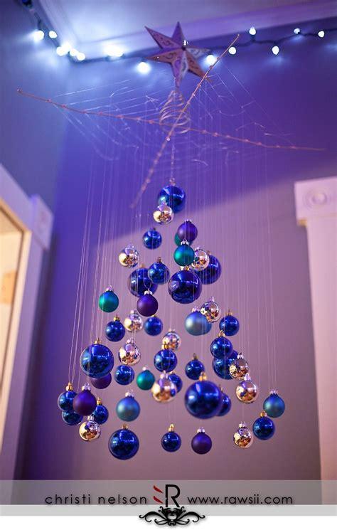 fishing line christmas tree