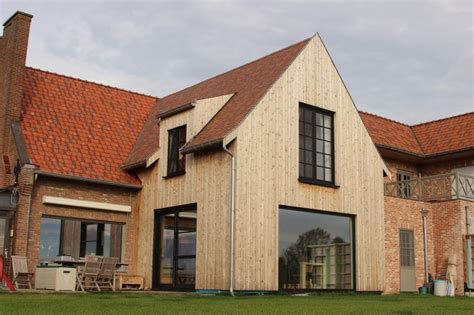 aanbouw houtskeletbouw ralus afbeeldingen bois een maison frank extension waarom added extra modulaire belge baraque cabine manoirs architecture houtskelet woninguitbreiding