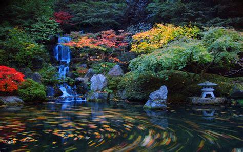 japanese garden wallpaper backgrounds wallpapersafari