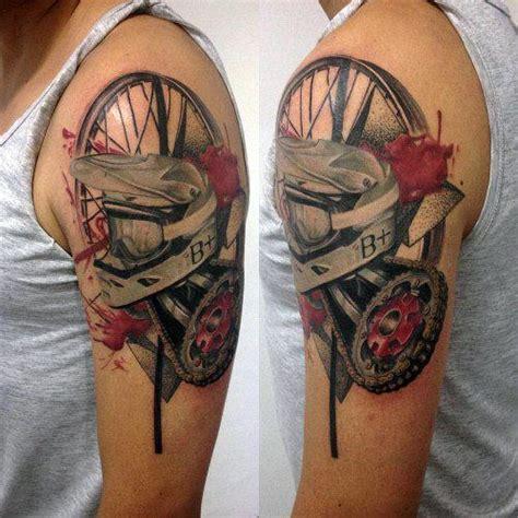 motocross tattoo images  pinterest motocross