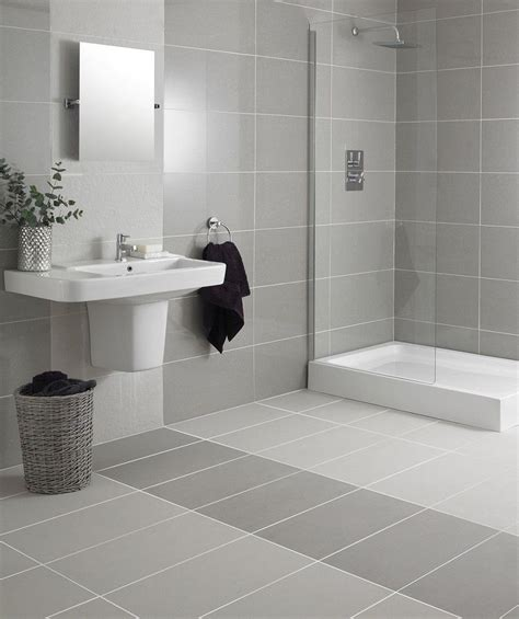 Topps Tiles Bathroom by Regal Grey Polished Tile Topps Tiles Dull But Would