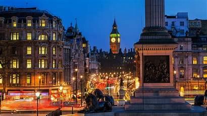 Trafalgar Square London Night Ben Wallpapers January