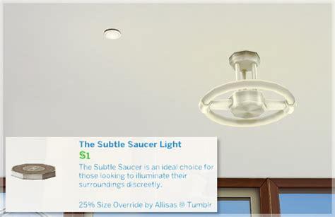allisas simming adventures the subtle saucer light size override sims 4 downloads