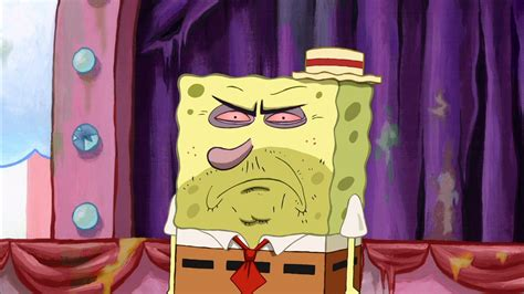 6 Stages Of Going Out Without Makeup As Told By Spongebob