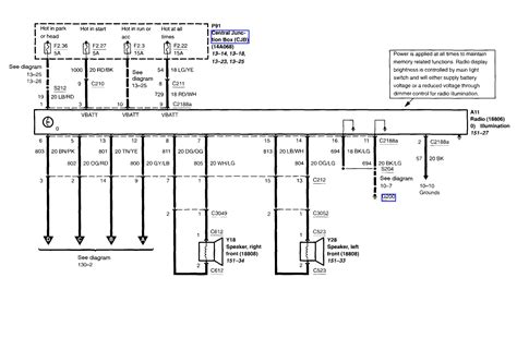 Ford Econoline E350 Blower Wiring Schematic by I 2002 E250 With Two Speaker Radio I Just Got