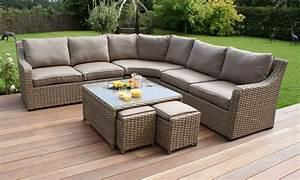 Rattan Lounge Set : rattan garden sofa sets garden bench and seat pads outdoor furniture thesofa ~ Orissabook.com Haus und Dekorationen