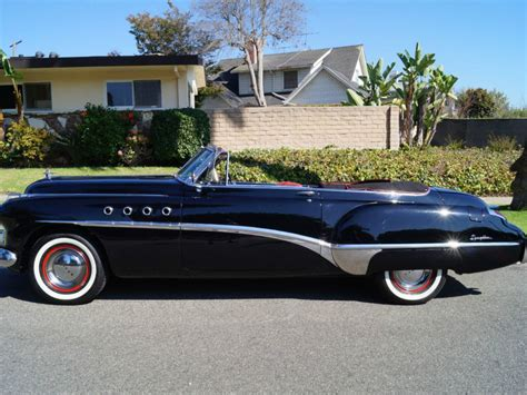 1949 Buick Roadmaster Convertible For Sale by 1949 Buick Roadmaster Series 70 Convertible For Sale