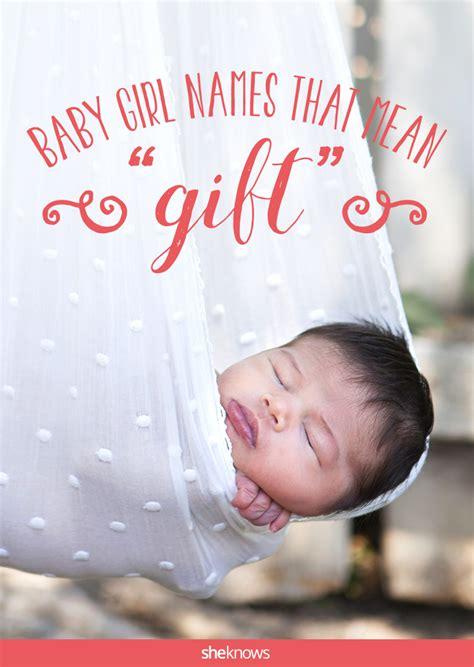 precious names   gift  baby girl   lucky  receive baby names country