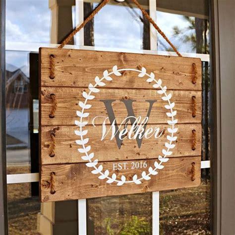 porch gifts wedding gift last name establish wedding established sign wedding gift for best friend front