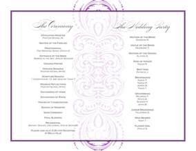 wedding reception program template event program template vnzgames