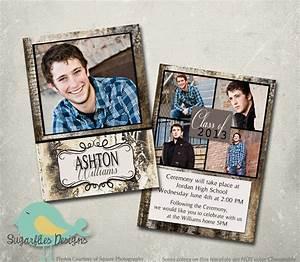 graduation announcement photoshop template senior graduation With senior announcement templates free