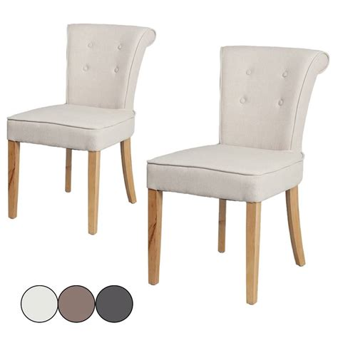 chaise capitonnée grise chaise