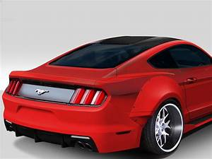2015-2017 Ford Mustang Duraflex Grid Wide Body Kit - 8 Piece