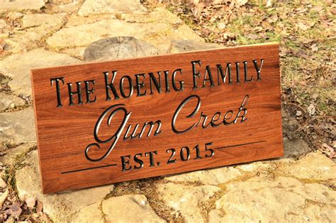 Custom Backyard Signs by Custom Outdoor Farm Estates Name Sign Outdoor Wood Yard Sign