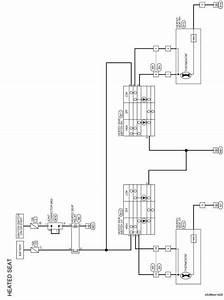 Nissan Sentra Service Manual  Wiring Diagram - Seat