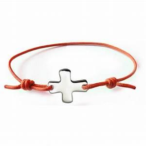 Bracelet Avec Elastique : bracelet lastique orange fluo avec croix comptoir religieux ~ Melissatoandfro.com Idées de Décoration