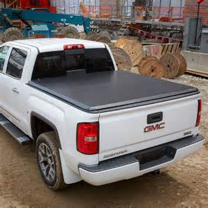 gmc bed cover 2014 1500 tonneau cover soft roll up vinyl black