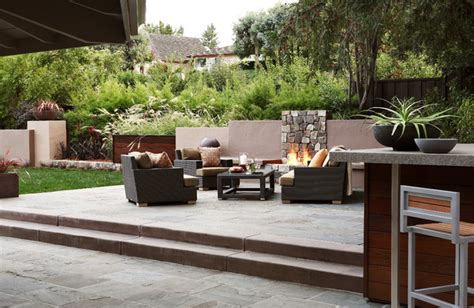 outdoor living room contemporary patio other metro
