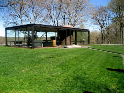 Glass House Johnson by Gallery Of Ad Classics The Glass House Philip Johnson 2
