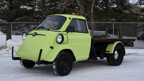 Bmw Technician by Be Unique With This Isetta Converted By Bmw Technician