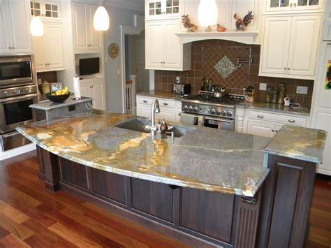 mixed granite kitchen design ideas theydesign