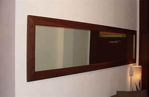 Spiegel An Der Wand Befestigen : wandspiegel holz spiegel ~ Markanthonyermac.com Haus und Dekorationen