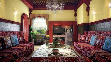 cuisine marocaine moroccan living room