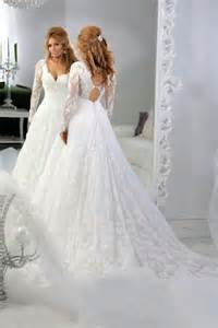 beaded wedding gowns vintage lace sleeves beaded a line wedding dresses tulle applique sequins sheer 2015 v