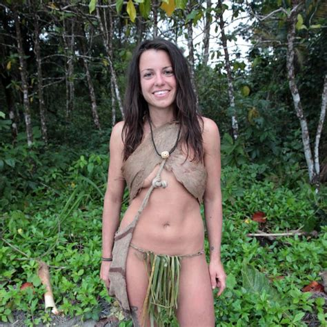Naked Laura Zerra In Naked And Afraid