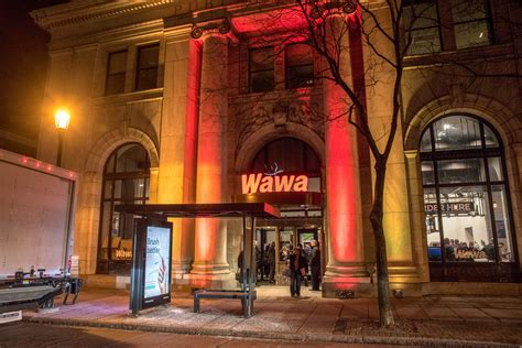 wawa celebrates opening  largest store  parade