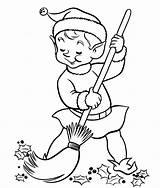 Coloring Pages Elf Shelf Cleaning Christmas Own Sheet Elves Chippy Room Colouring Sheets Child Things Popular Coloringhome Comments sketch template