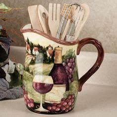 Grape Decor For Kitchen Cheap by Details About White Wine Glass With Vine And Grapes