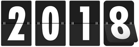 2018 Black Transparent Clip Art Image