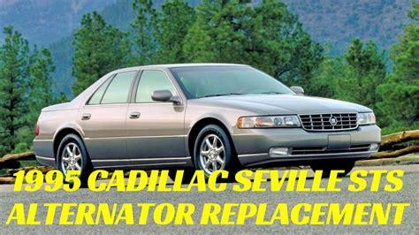 cadillac seville  alternator replacement northstar sls