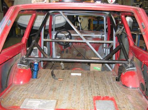 Datsun 510 Roll Cage by Wagon Rear Rollcage Racing On The Cheap
