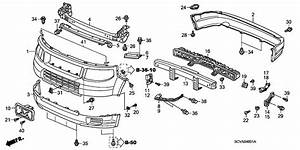 2005 Honda Element Body Parts Diagram