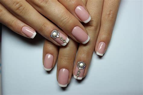 Белый френч – 157 красивейших фото идей дизайна ногтей
