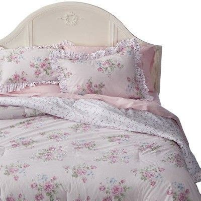 shabby chic pink bedding target simply shabby chic 174 misty rose comforter set pink twin