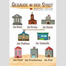 La Ville #apprendreallemand #vocabulaireallemand #learngerman #languesetrangeres #daf