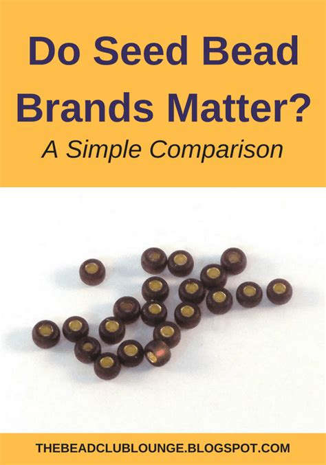 Do Seed Bead Brands Matter? A Simple Comparison