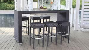 Bar Exterieur Design : table de bar pour exterieur ~ Melissatoandfro.com Idées de Décoration