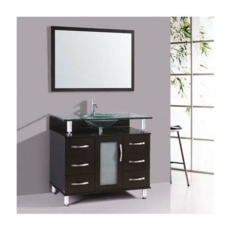 Kokols Modern Bathroom Vanity by Kokols 32 Quot Single Bathroom Vanity Set With Mirror Allmodern