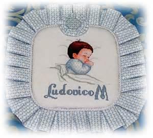 cuscino nascita punto croce cuscino nascita ludovico dall album di nonnamiry
