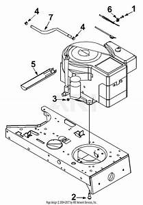 Mtd 13ah662f098  2002  Parts Diagram For Engine