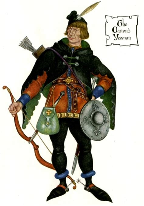 chaucer in modern hemanuel the yeoman