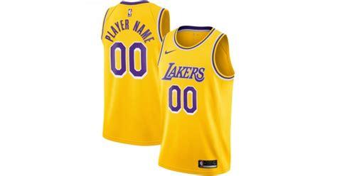 Los Angeles Lakers Trikot Benutzerdefinierte 2020-2021 ...